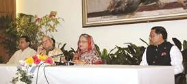 Next polls to be held as per constitution: PM Hasina