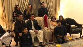 Hat-trick as Pakistan's Imran Khan marries for third time