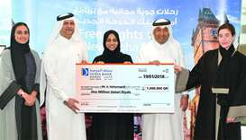 A Haleyangadi is Doha Bank's latest millionaire.