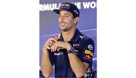 Ricciardo pranged new Red Bull car on track debut