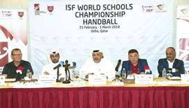 ISF World Schools Handball from today