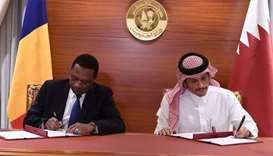 Chad and Qatar have signed a MoU to resume diplomatic relations and for the immediate return of amba