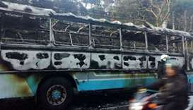 12 military personnel among 19 injured in Sri Lanka bus explosion