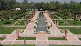 Indian capital's 'lost' garden reopens as public park