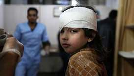 Strikes hit Ghouta for fifth day as UN pleads for ceasefire
