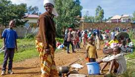 Five refugees killed, 20 injured in Rwanda camp food protest