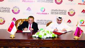 Mwani Qatar signs MoU with Indonesian port firm Pelindo 1