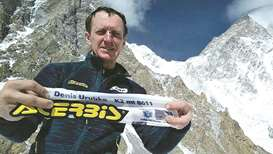 Mountaineer tries first winter solo climb on K2