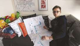 Schoolboy maps life from disabled to designer