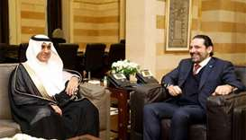 Saudi envoy invites Lebanon's PM Hariri to kingdom