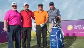 Qatar Duty Free congratulates Pepperell on winning  Commercial Bank Qatar Masters