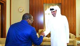 Emir receives message from Guinea president