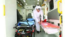 HMC launches 60 ambulances to serve areas outside Doha