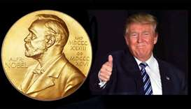 Trump nomination for Nobel Peace Prize suspected to be 'fake' news