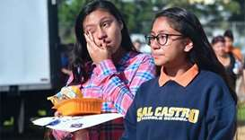 Los Angeles school shooting wounds 5; girl, 12, arrested