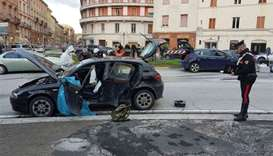 Italy migrant shooting spree 'triggered by woman's murder'