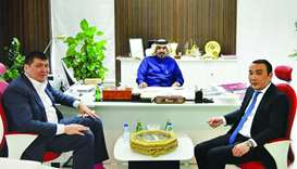 Qatar and Kazakhstan review co-operation ties