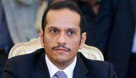 HE the Deputy Prime Minister and Foreign Minister Sheikh Mohamed bin Abdulrahman al-Thani