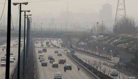 Air pollution closes all schools in Tehran