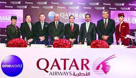 Qatar Airways launches flights to Penang in Malaysia