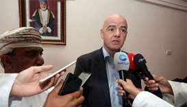 Qatar 2022 a tournament for all Gulf countries: Infantino