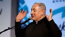 Israeli PM lashes out at police as graft probe nears end