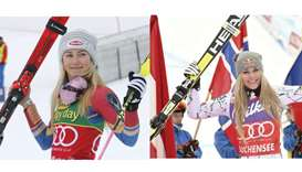 Ski queens Shiffrin, Vonn look to rule the slopes