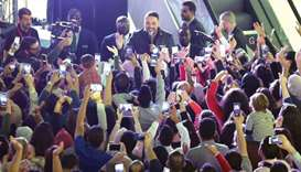 Ramy Ayach enthrals audience
