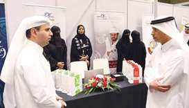 Kahramaa participates in Career Fair