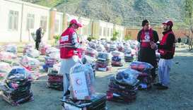 QRCS distributes winter aid in three Afghan provinces