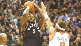 Balanced attack helps Raptors rout Knicks 113-88