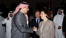 Al-Attiyah meets French minister