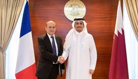 Qatar, France sign pact for strategic dialogue