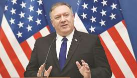 Pompeo in Brussels to talk Afghanistan with NATO