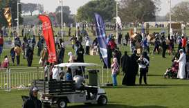 Qatar Sport Day celebration at Aspire Zone.