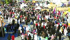 Thousands visit Katara to take part in National Sport Day events