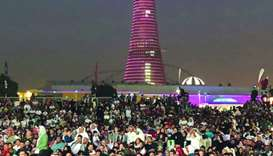 Thousands flock to Aspire Park to celebrate historic win