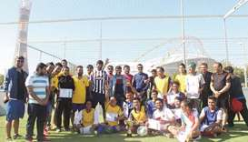 PETCC organises a football tournament