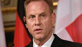 US Secretary of Defense Patrick Shanahan speaks at the annual Munich Security Conference in Munich,