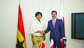 Qatar, Ghana officials hold talks