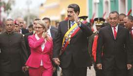 US imposes sanctions on officials close to Maduro