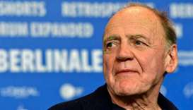 "Swiss actor Bruno Ganz poses for photographers during a photocall for the film ""In Times of Fading L"