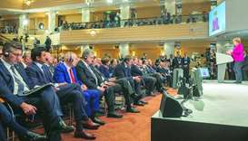 Amir attends Munich Security Conference session