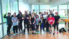 Commercial Bank organised the 'CB Olympics Challenge' at the bank's newly-opened onsite gym – CB Hou