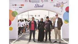 Hundreds participate in AFG College Fun Run on Sport Day