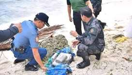 Philippine police urge residents to watch out for floating cocaine