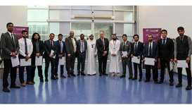 Qatar Airways - first batch of aircraft mechanics