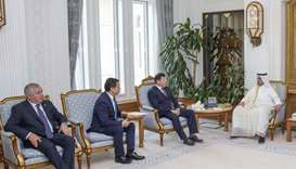 PM reviews ties with Tajikistan minister