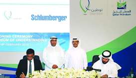 Qatar Petroleum, Schlumberger sign MoU during Tawteen launch