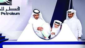 Sheikh Abdullah bin Nasser bin Khalifa al-Thani launches Qatar Petroleum's Tawteen initiative during